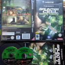 TOM CLANCY'S SPLINTER CELL CHAOS THEORY PAL ESPAÑA COMPLETO GAME CUBE GAMECUBE
