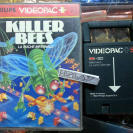 KILLER BEES 52 VINTAGE GAME 1983 PHILIPS VIDEOPAC VIDEOPAC+ JOPAC ENVIO 24H
