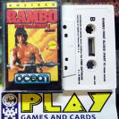 RAMBO FIRST BLOOD PART II ERBE CINTA TAPE CASSETTE PAL ESPAÑA AMSTRAD ENVIO 24H