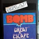 BOMB GREAT ESCAPE 1983 ATARI 2600 SOLO CARTUCHO ENVIO CERTIFICADO / AGENCIA 24H