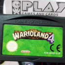 WARIOLAND 4 IV WARIO LAND PAL NINTENDO GAME BOY GAMEBOY ADVANCE GBA MARIO