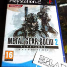 METAL GEAR SOLID 2 SUBSTANCE PS2 PLAYSTATION 2 PAL ESPAÑA NUEVO PRECINTADO NUEVO