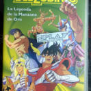 ANIME VHS LOS CABALLEROS DEL ZODIACO LA LEYENDA DE LA MANZANA DE ORO SAINT SEIYA