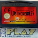 LOS INCREIBLES PAL NINTENDO GAME BOY GAMEBOY ADVANCE GBA ENVIO CERTIFICADO / 24H