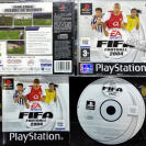 FIFA FOOTBALL 2004 PAL ESPAÑA COMPLETO PSX PLAYSTATION PSONE PS1 ENVIO AGENCIA