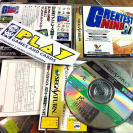 GREATEST NINE 97 SEGA SATURN JAPAN IMPORT BEISBOL SEGA SPORTS SPINE CARD