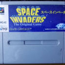 SPACE INVADERS THE ORIGINAL GAME NTSC JAPAN SNES SUPER FAMICOM NES NINTENDO SFC