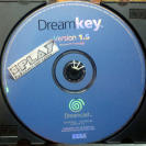 DREAMKEY DREAM KEY VERSION 1.5 SOLO DISCO INTERNET BROWSER DISK PAL DREAMCAST DC