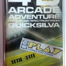 TIME GATE 4D ARCADE ADVENTURE QUICKSILVA 48K SINCLAIR SPECTRUM ENVIO CERTIFICADO