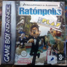 FLUSHED AWAY RATONPOLIS PAL ESPAÑA NUEVO SEALED NEW GBA GAME BOY GAMEBOY ADVANCE