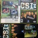 CSI LAS 3 TRES DIMENSIONES DEL ASESINATO PAL ESPAÑA  PS2 PLAYSTATION 2 ENVIO 24H