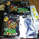 ZELDA FOUR SWORDS NINTENDO GAMECUBE + CABLE MUY BUEN ESTADO JAPONES ENTREGA 24H