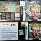 PROFESSOR BRAINIUM'S GAMES NDS NINTENDO DS SUDOKU CROSS SUMS MAHJONG MIND BENDER
