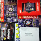 ULTIMATE MORTAL KOMBAT 3 III WILLIAMS CAJA DE CARTON SEGA GENESIS USA MEGADRIVE