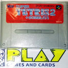 SUPER TETRIS 2 + BOMBLISS NTSC JAPAN IMPORT SFC SNES SUPER FAMICOM NES NINTENDO