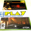 KNIGHTS OF THE TEMPLE PAL ESPAÑA XBOX NUEVO PRECINTADO ENTREGA 24 HORAS
