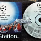 UEFA CHAMPIONS LEAGUE SEASON 1999/2000 PAL DISCO + MANUAL PSX PLAYSTATION PS1