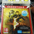 RESIDENT EVIL 5 V GOLD EDITION PAL ESPAÑA  BUEN ESTADO PS3 PLAYSTATION 3