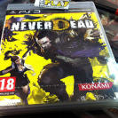 NEVERDEAD NEVER DEAD PS3 PLAYSTATION 3 PAL ESPAÑA NUEVO PRECINTADO NEW FACTORY