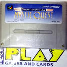 Final Fantasy USA Mystic Quest Legend JAPAN SFC SNES SUPER FAMICOM NES NINTENDO