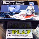 ACTION FIGURE FIGURA EVANGELION AYANAMI REI FLASH A SMILE NUEVA NEW SEGA 2010