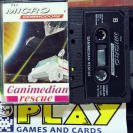 GANIMEDIAN RESCUE TU MICRO COMMODORE 64 PAL ESPAÑA  BUEN ESTADO