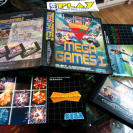 MEGA GAMES I MEGADRIVE SUPER HANG ON COLUMNS WORLD CUP ITALIA 90 PAL COMPLETO