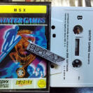 WINTER GAMES MSX CINTA ERBE SOFTWARE PAL ESPAÑA ENVIO CERTIFICADO / AGENCIA 24H