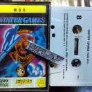 WINTER GAMES MSX CINTA ERBE SOFTWARE PAL ESPAÑA ENVIO CERTIFICADO / AGENCIA 24H