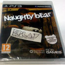 NAUGHTY BEAR PAL ESPAÑA PS3 PLAYSTATION 3 NUEVO PRECINTADO BRAND NEW SEALED