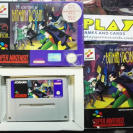 THE ADVENTURES OF BATMAN & ROBIN SUPER NINTENDO SNES PAL COMPLETO KONAMI