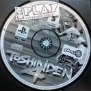 TOSHINDEN 4 IV SOLO DISCO PAL ESPAÑA SONY PLAYSTATION 1 PSX PS1 PSONE