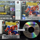 SPIDER MAN 2 II ENTER ELECTRO SPIDERMAN PAL ESPAÑA PSX PLAYSTATION PSONE PS1