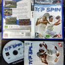 TOP SPIN PAL ESPAÑA COMPLETO PS2 PLAYSTATION 2 ENVIO CERTIFICADO / AGENCIA 24H