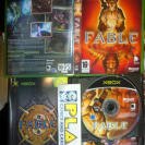 FABLE 1 I + DISCO THE LOST CHAPTERS PAL ESPAÑA MUY BUEN ESTADO MICROSOFT XBOX