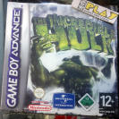THE INCREDIBLE HULK PAL ESPAÑA NUEVO GBA GAME BOY GAMEBOY ADVANCE ENVIO 24 HORAS