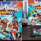 POWER RANGERS SPD S.P.D. PAL ESPAÑA COMPLETO GAME BOY ADVANCE GBA ENVIO 24H