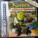 SHREK SWAMP KART SPEEDWAY SPEED WAY PAL ESPAÑA NUEVO NEW GBA GAME BOY ADVANCE