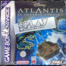 ATLANTIS EL IMPERIO PERDIDO DISNEY PAL ESPAÑA NUEVO GBA GAME BOY ADVANCE GAMEBOY