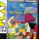 DISNEY PETER PAN LA LEYENDA DE NUNCA JAMAS PAL ESPAÑA PS2 PLAYSTATION 2