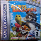 VECINOS INVASORES PAL ESPAÑA NUEVO NEW OVER THE HEDGE GBA GAME BOY ADVANCE