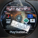 BATTLE STAR BATTLESTAR GALACTICA PAL SOLO DISCO PS2 SONY PLAYSTATION 2