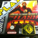 JUSTICE LEAGUE HEROES THE FLASH GBA GAME BOY ADVANCE NUEVO PRECINTADO NEW SEALED
