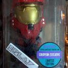 FIGURE FIGURA MASTER CHIEF JEFE MAESTRO HALO 3 RED EUROPEAN LIMITED BOBBLE HEAD