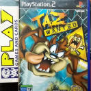 TAZ WANTED LOONEY TUNES PAL ESPAÑA PS2 PLAYSTATION 2 ENVIO CERTIFICADO / 24H
