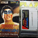 SUPER FIRE PRO WRESTLING NTSC JAPAN IMPORT SNES SUPER NES NINTENDO FAMICOM