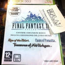 FINAL FANTASY 11 XI ONLINE XBOX 360 3 EXPANSIONES RZILART CPROMATHIA  TAHTURGHAN