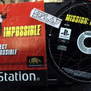 MISSION IMPOSSIBLE SOLO DISCO + MANUAL PAL ESPAÑA PLAYSTATION 1 PSX PS1 PSONE