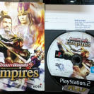 DYNASTY WARRIORS 5 V EMPIRES PAL ESPAÑA DISCO + MANUAL PS2 SONY PLAYSTATION 2