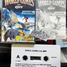 WORLD GAMES CINTA TAPE CASSETTE PAL ESPAÑA AMSTRAD ERBE SOFTWARE EPYX ENVIO 24H